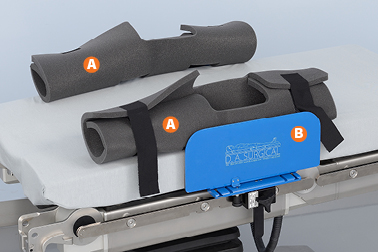 ArmGuard Rail-Mounted Patient Arm Protector