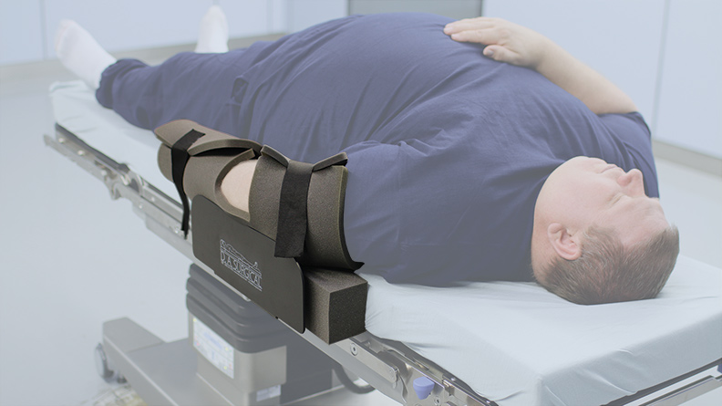 ArmGuard with bariatric width extender pad